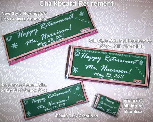 Candy for Teacher Retirement Quotes